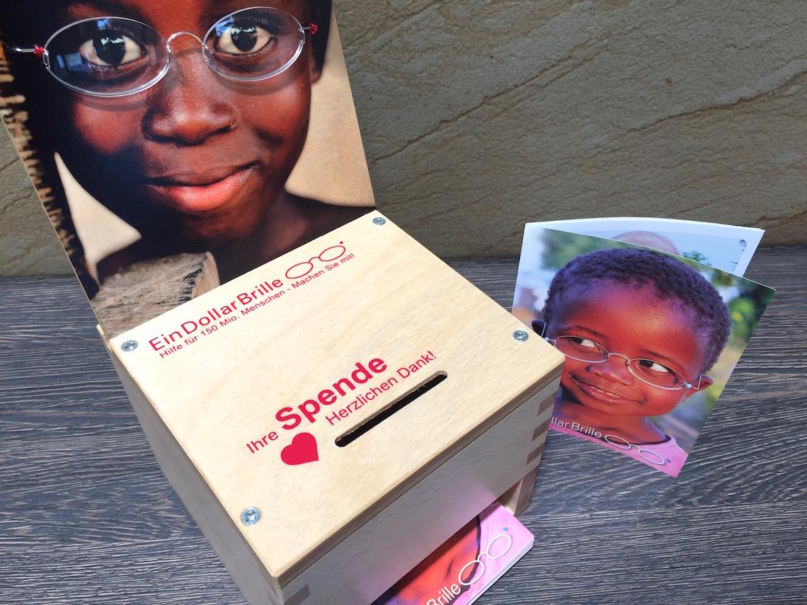 Ein-Dollar-Brille: Hilfe für Millionen Menschen