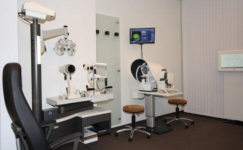 Augenscreening beim Optiker